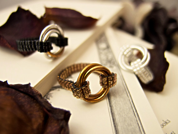 Infinity Love Rings by JeannieRichard