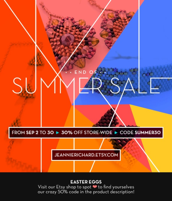 JeannieRichard Jewelry Summer Sale